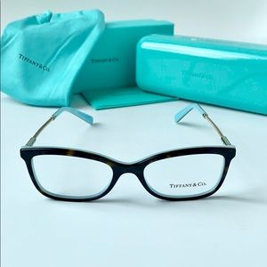 Tiffany & Co. Eyeglasses TF2169 8134 Havana/Blue